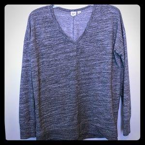 GAP Gray long sleeve sweatshirt
